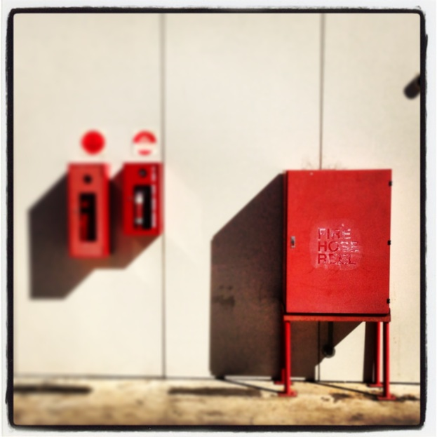 Red Things And Their Shadows