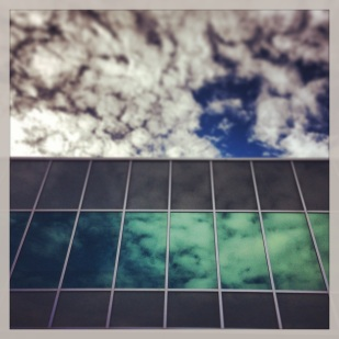 Sky Looking At The Sky